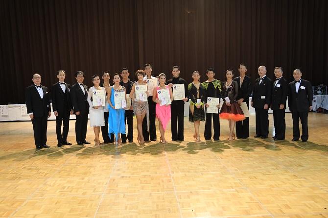 プロD級ラテンアメリカン表彰式