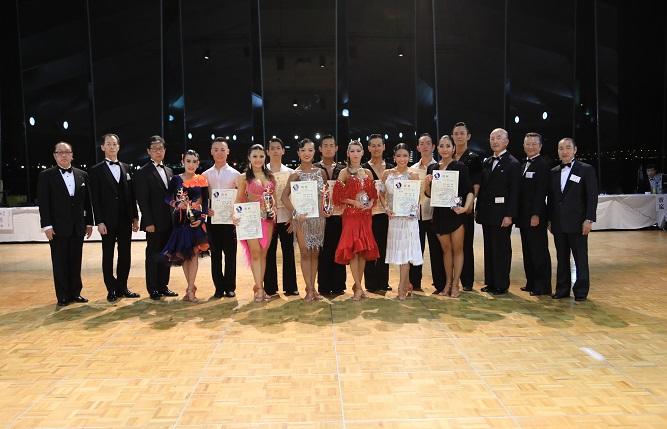 アマB級ラテンアメリカン表彰式