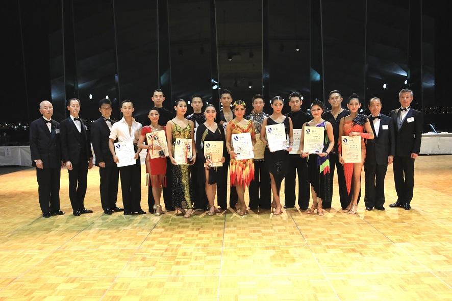 アマB級ラテン表彰式