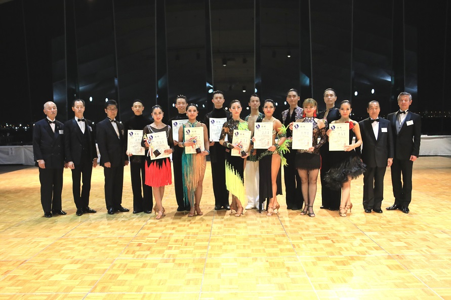 アマC級ラテン表彰式