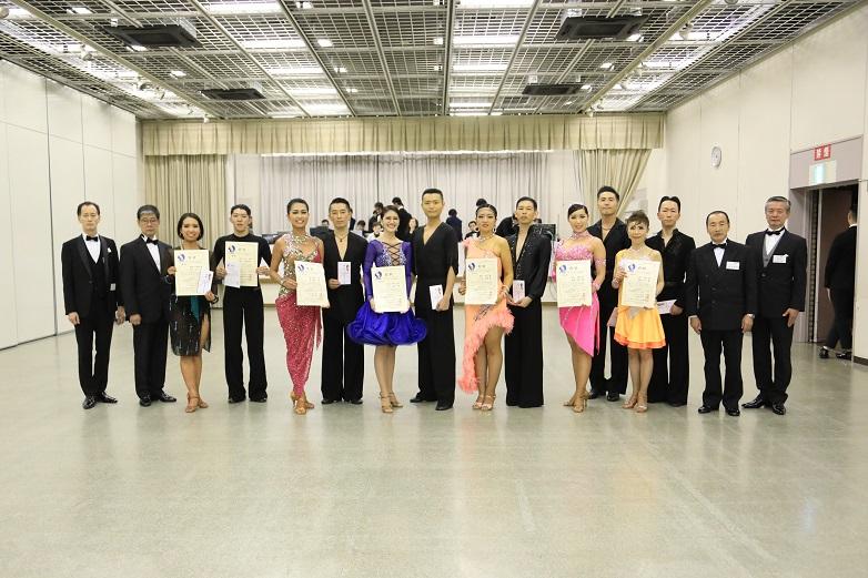 プロN級ラテンアメリカン表彰式