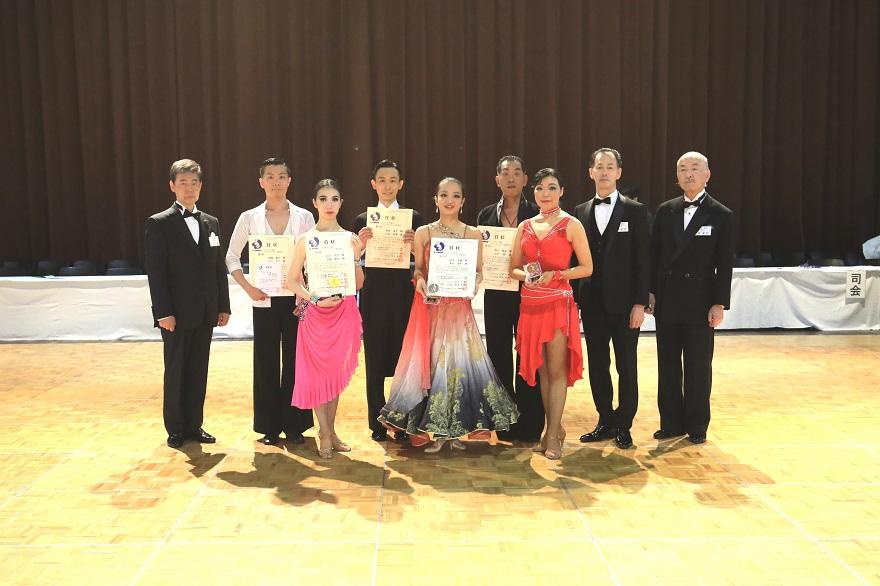 アマE級ラテン表彰式