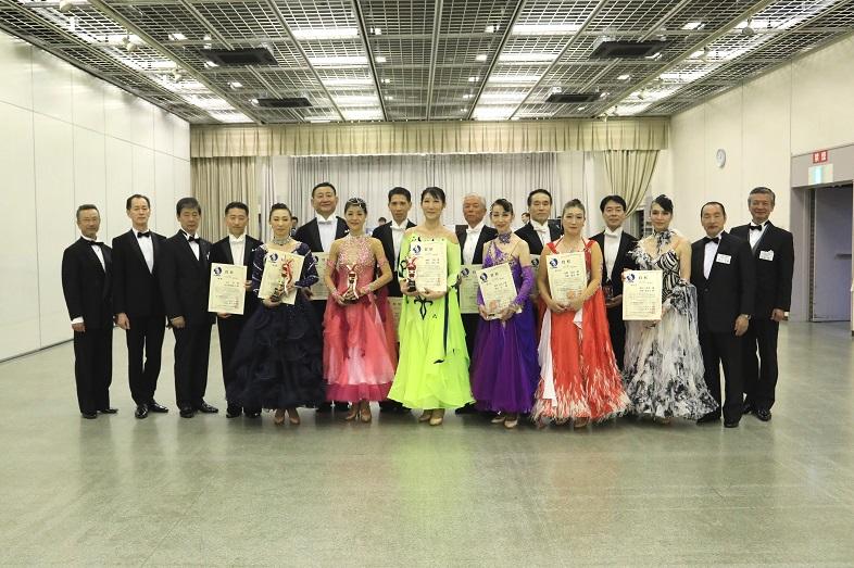 アマ・シニアC級スタンダード表彰式
