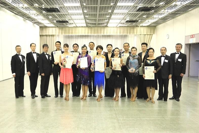 アマD級ラテン表彰式