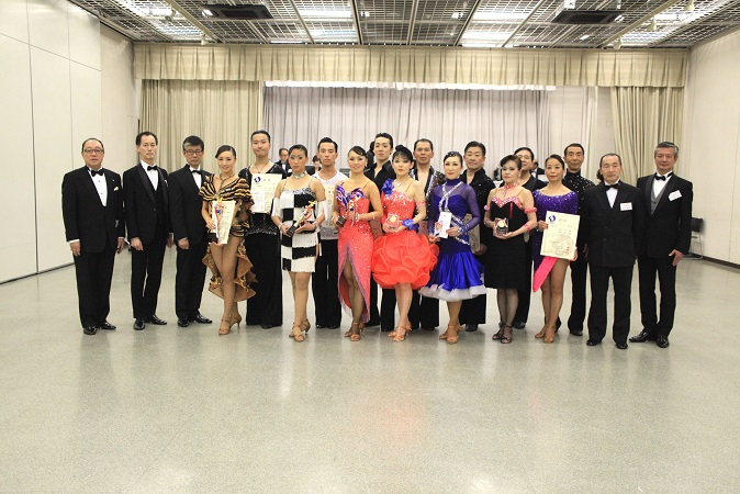 アマD級ラテンアメリカン表彰式