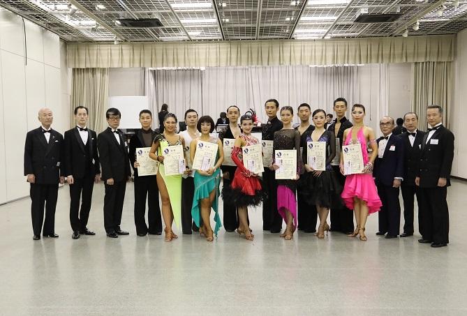 プロD級ラテン表彰式
