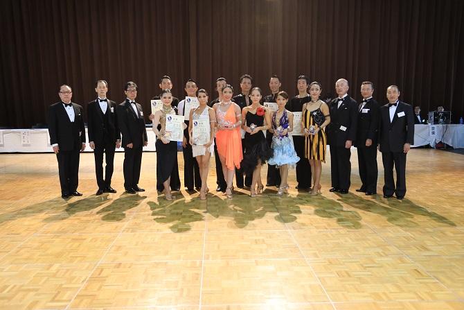 アマE級ラテンアメリカン表彰
