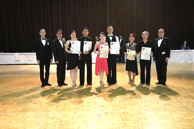 アマN級ラテンアメリカン表彰式